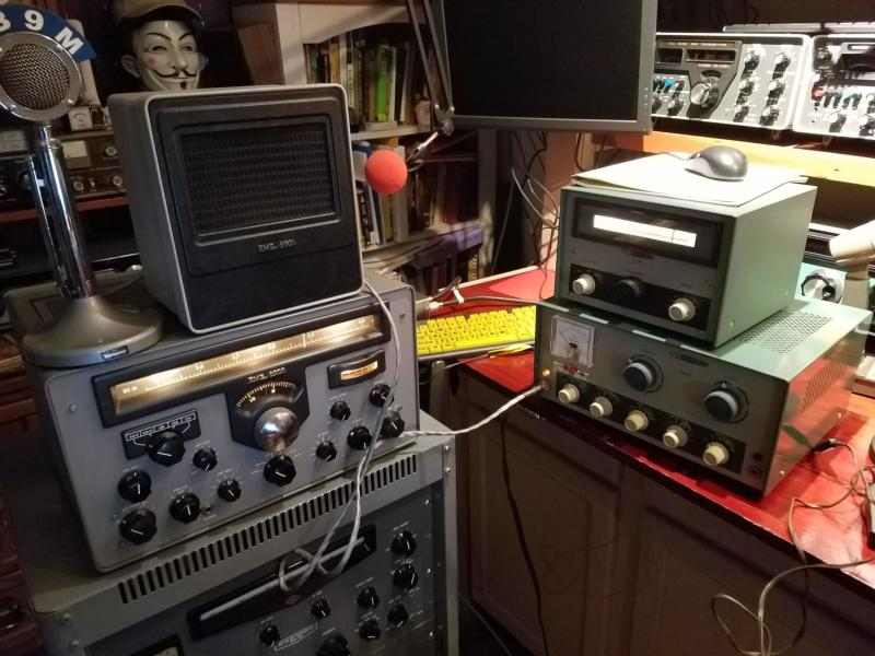 RME-6900 & DX-60 earns their keep on a winter morning
