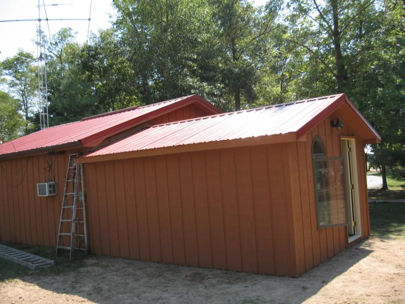 Built off the 24x24 garage, 2008