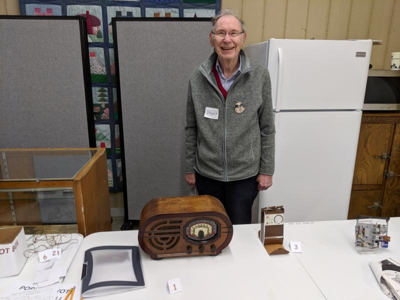 My old friend attended the Indiana Historical Radio Society Winter Meet (3/9/2019)
