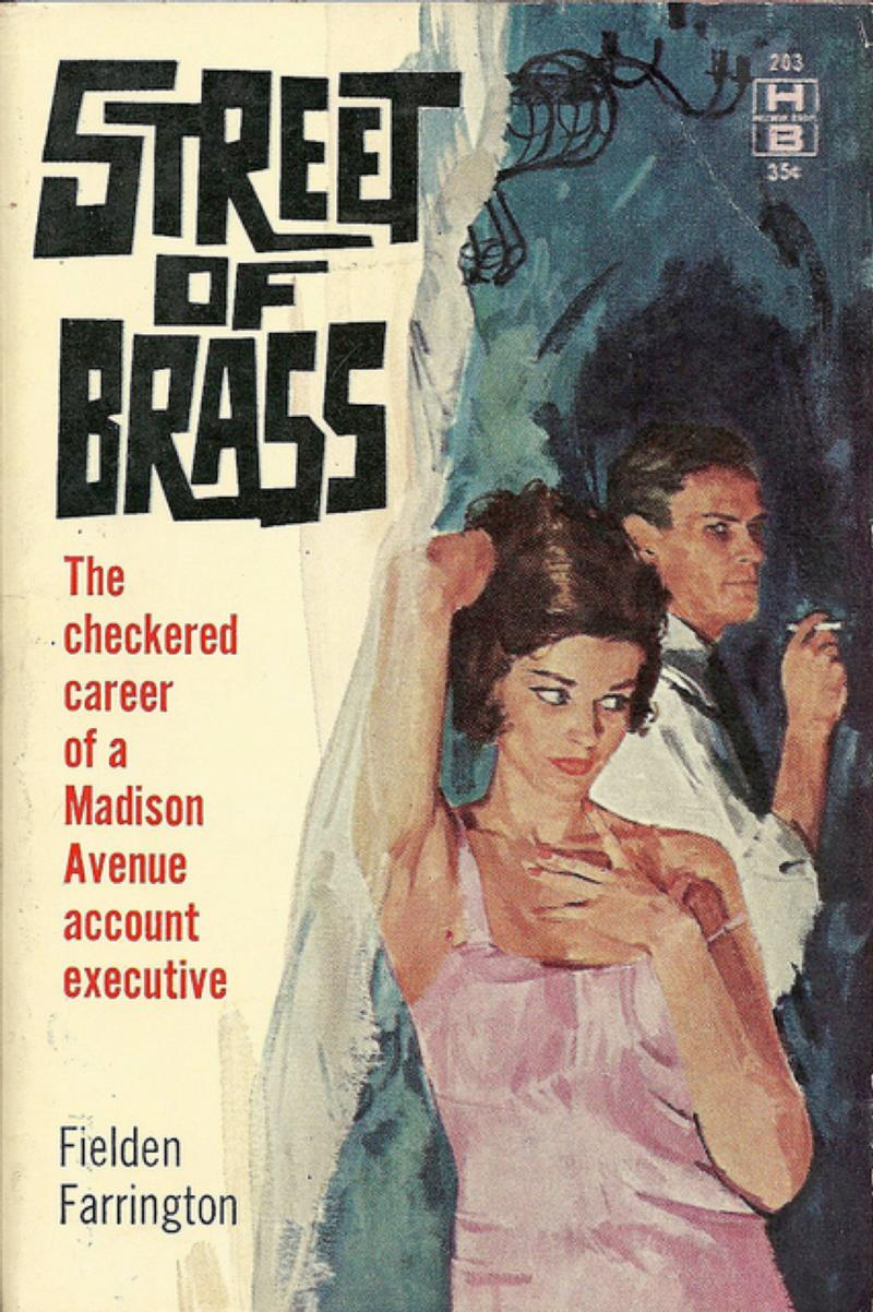 Street of Brass, paperback, 1961
