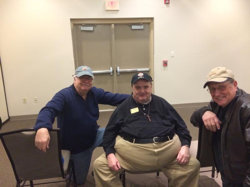 Brad (NB9M), Tom (K4LID) & Bill (KC4FRA)