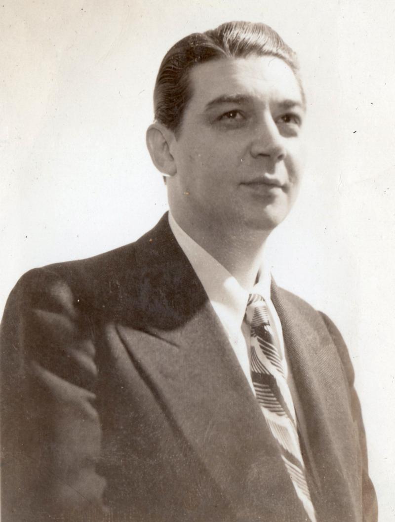 Young Fielden, 1930's, CBS