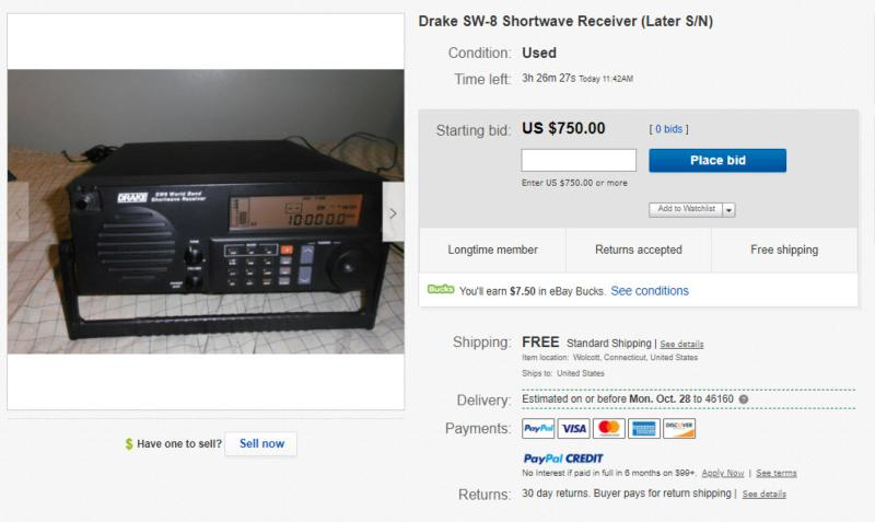 Face it guys: the SW-8 Drake receiver is not worth half this price.