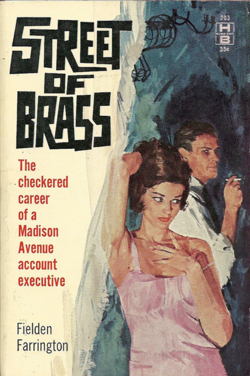 Street of Brass, paperback, 1961