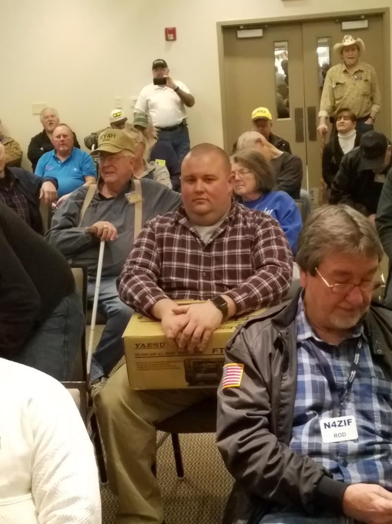 Kentucky Phone Net Meeting, Cave City Hamfest, 3/3/201
