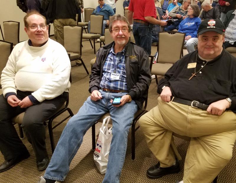 Barry (AC9NK), Rod (N4ZIF) & Tom (K4LID)